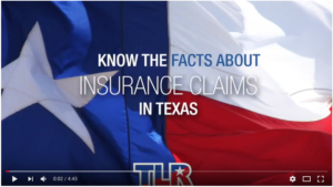 Know the facts about insurance claims in Texas